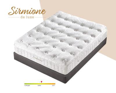 Sirmione Deluxe Yatak Kuş Tüyü Ped Süngerli